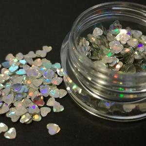 Lovertjes - Hart 3x3mm Zilverkleur (+/- 2 gram)