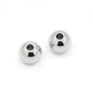 Metalen Kralen 6mm Rond (2mm gaatje) Zilverkleur (30 stuks)