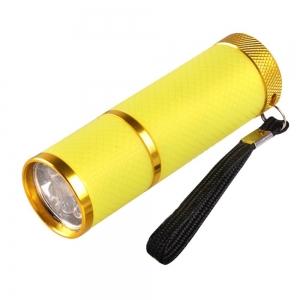 UV Zaklamp - Geel (9 watt)