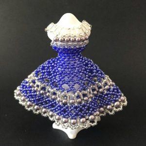 A-Line Dress-Blauw-1