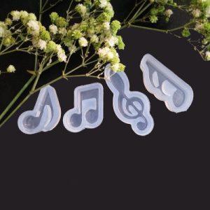 Gietvorm - Muzieknoten